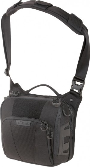 Maxpedition AGR Lochspyr shoulder bag black LCRBLK