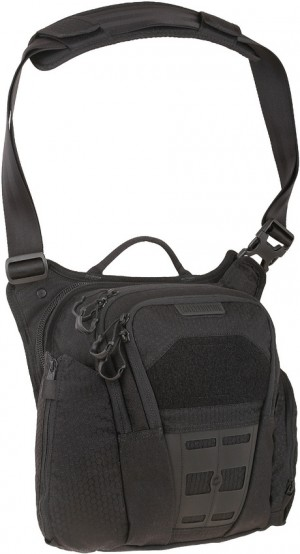Maxpedition AGR Veldspar shoulder bag black VLDBLK