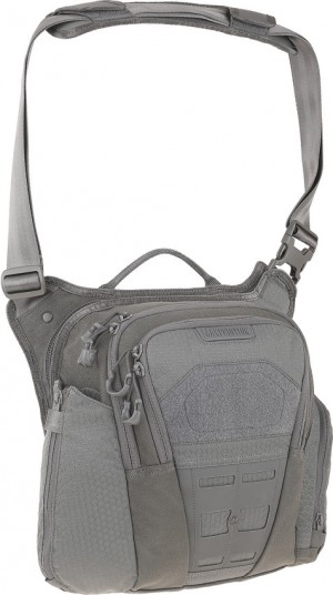 Maxpedition AGR Veldspar shoulder bag gray VLDGRY