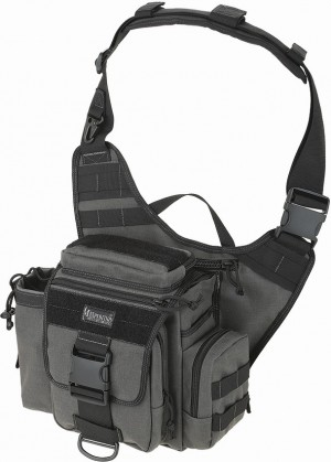 Maxpedition Jumbo Versipack shoulder bag wolf gray 0412W