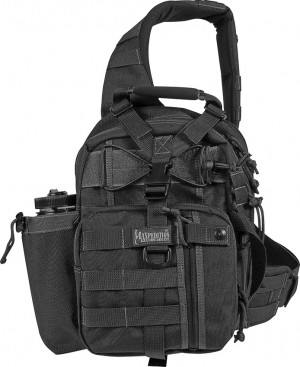 Maxpedition Noatak Gearslinger backpack black 0434B