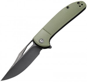CIVIVI Ortis folding knife, olive drab C2013C