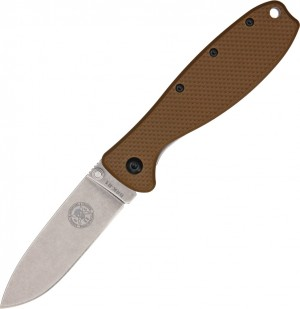 ESEE Zancudo D2 folding knife Brown
