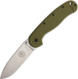 ESEE Avispa CF D2 folding knife Green