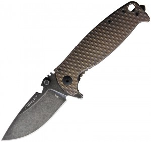 DPx HEST/F Urban Framelock folding knife Copper 1