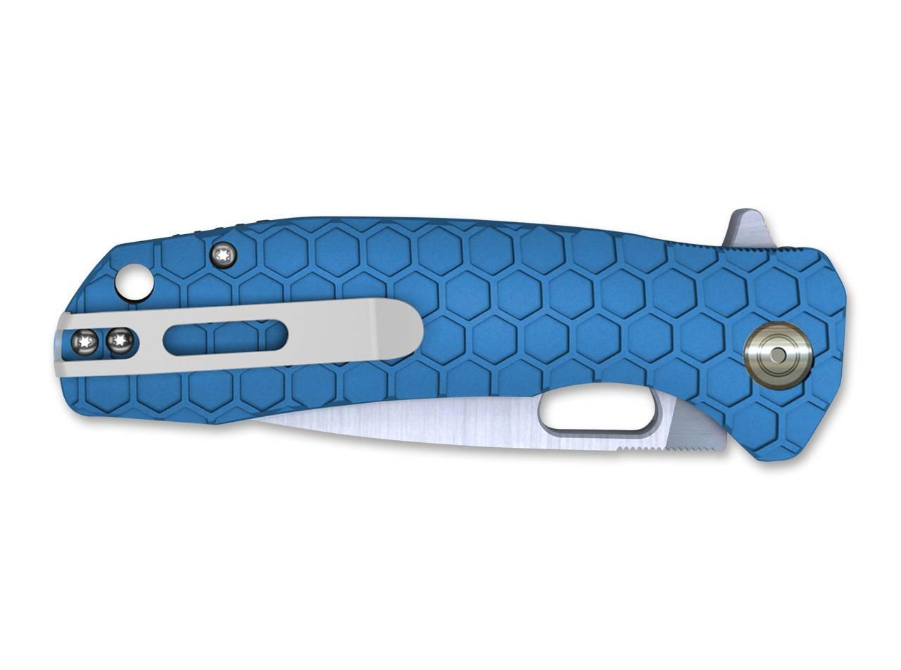 FLIPPER LARGE BLUE 01HO040 HONEY BADGER