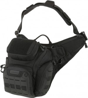 Maxpedition AGR Wolfspur v2.0 Crossbody shoulder bag black WLF2BLK