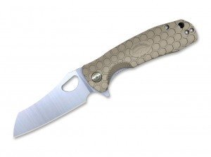 Складной нож Honey Badger Wharncleaver Large folding knife, tan