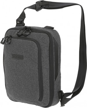 Maxpedition Entity Tech Sling Bag Small shoulder bag charcoal NTTSLTSCH