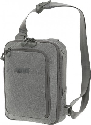 Maxpedition Entity Tech Sling Bag Small shoulder bag ash NTTSLTSAS