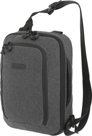 Maxpedition Entity Tech Sling Bag Large shoulder bag charcoal NTTSLTLCH