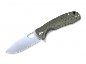 Складной нож Honey Badger Flipper Medium folding knife, green