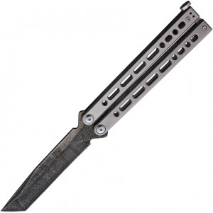 Bear Ops Bear Song VIII Tanto butterfly knife grey