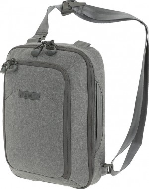 Maxpedition Entity Tech Sling Bag Large shoulder bag ash NTTSLTLAS