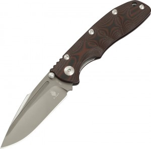 Kizer Cutlery Bolt Linerlock folding knife red