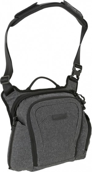 Maxpedition Entity Crossbody Bag Small shoulder bag charcoal NTTCBSCH