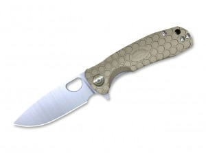 Складной нож Honey Badger Flipper Small folding knife, tan