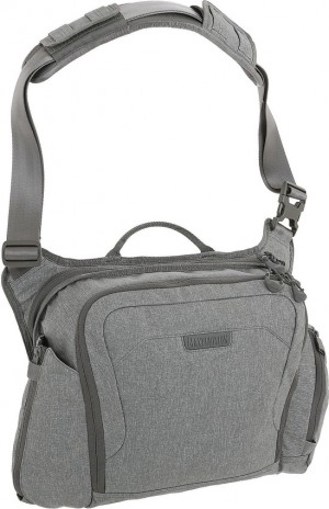 Maxpedition Entity Crossbody Bag Large shoulder bag ash NTTCBLAS