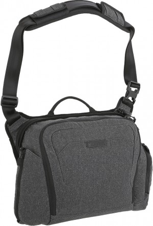 Maxpedition Entity Crossbody Bag Large shoulder bag charcoal NTTCBLCH