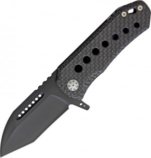 EOS Orca S Framelock Carbon DLC folding knife
